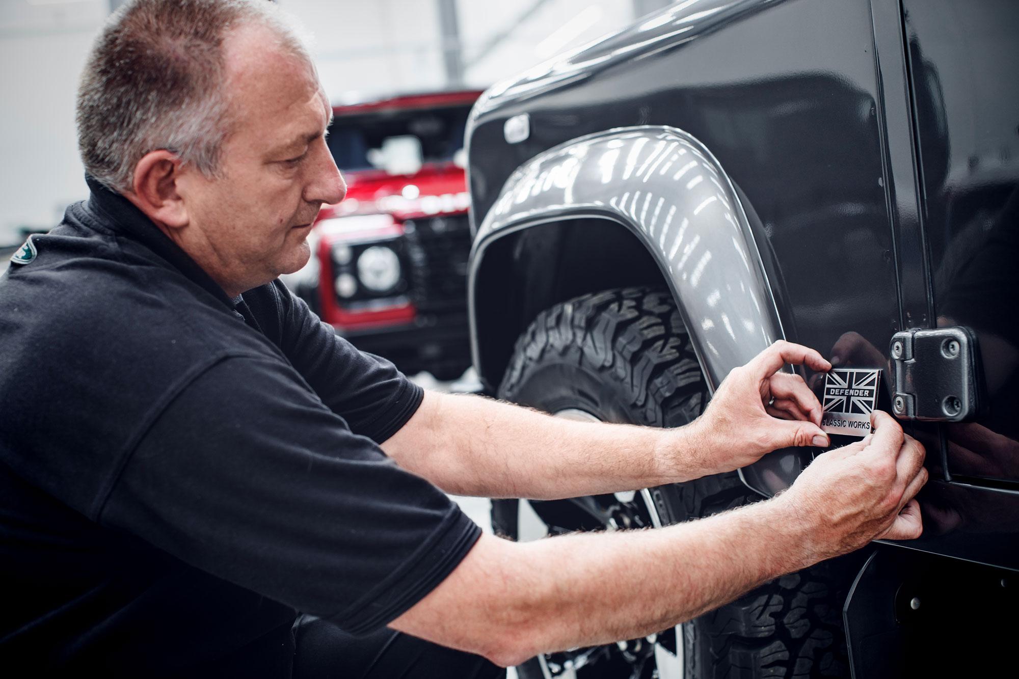 Land Rover Classic Defender Upgrades