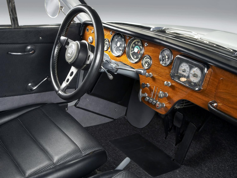 1966 Saab Sonett II interior