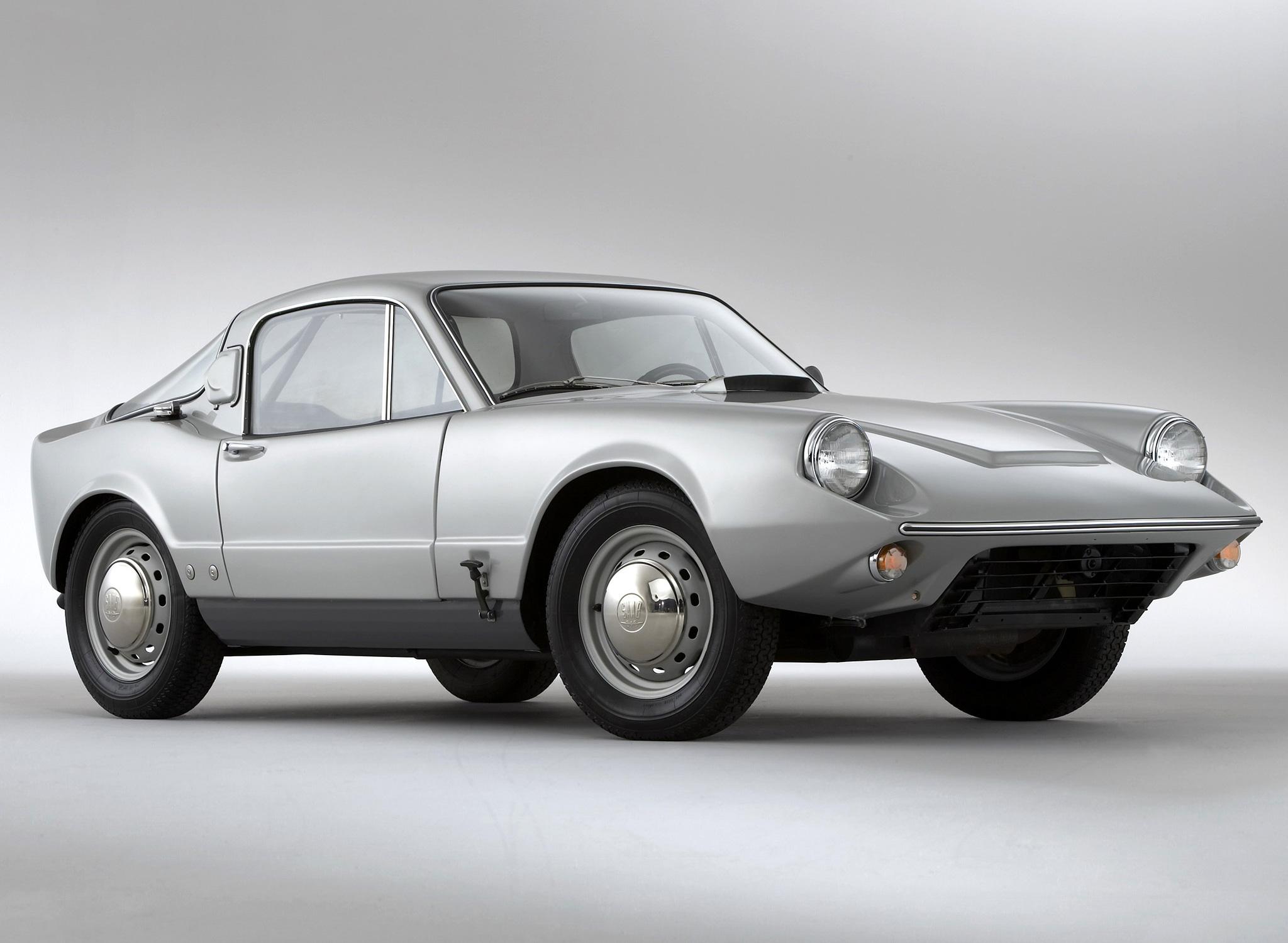 1966 Saab Sonett II front 3/4