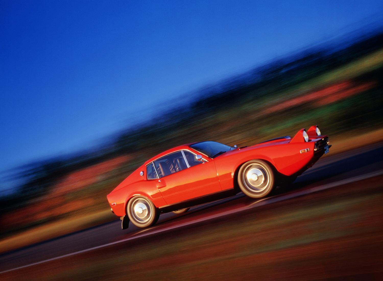 1970 Saab Sonett III driving
