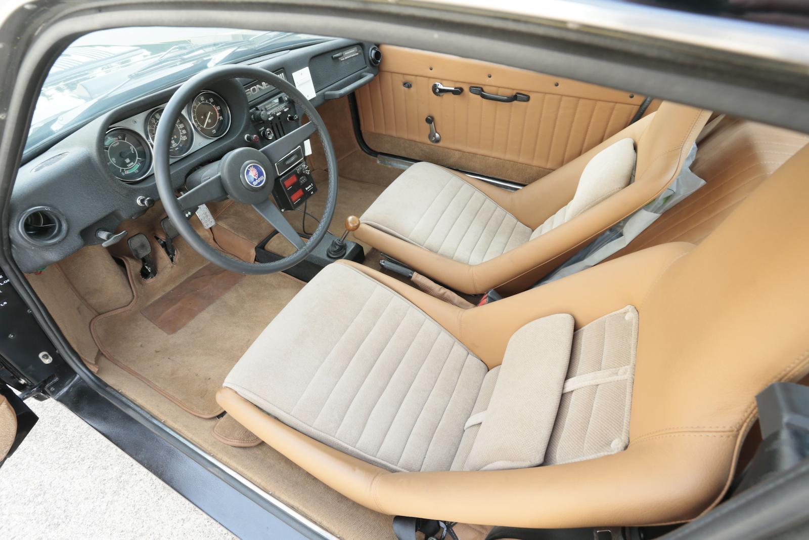 1972 Saab Sonett III interior