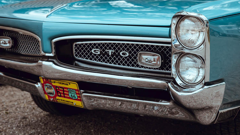 1967 Pontiac GTO grille