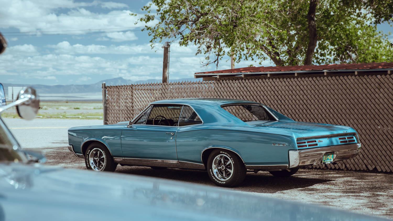 1967 Pontiac GTO rear 3/4