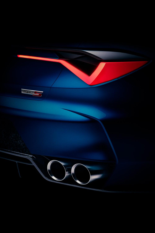 Acura Type S teaser