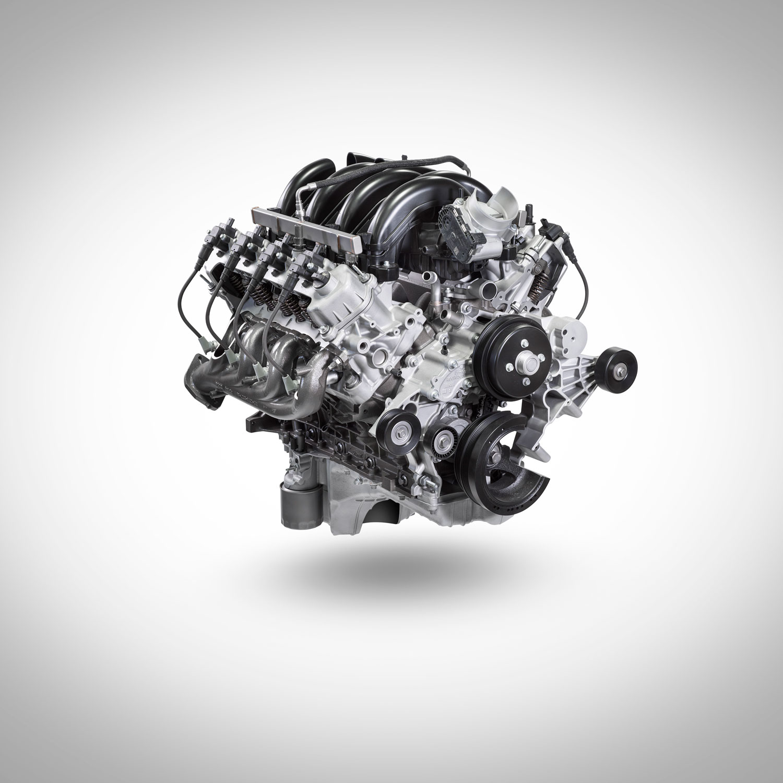 7.3-Liter V-8 Engine