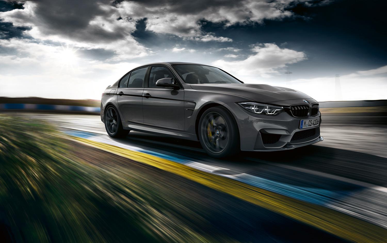 BMW M3 front 3/4