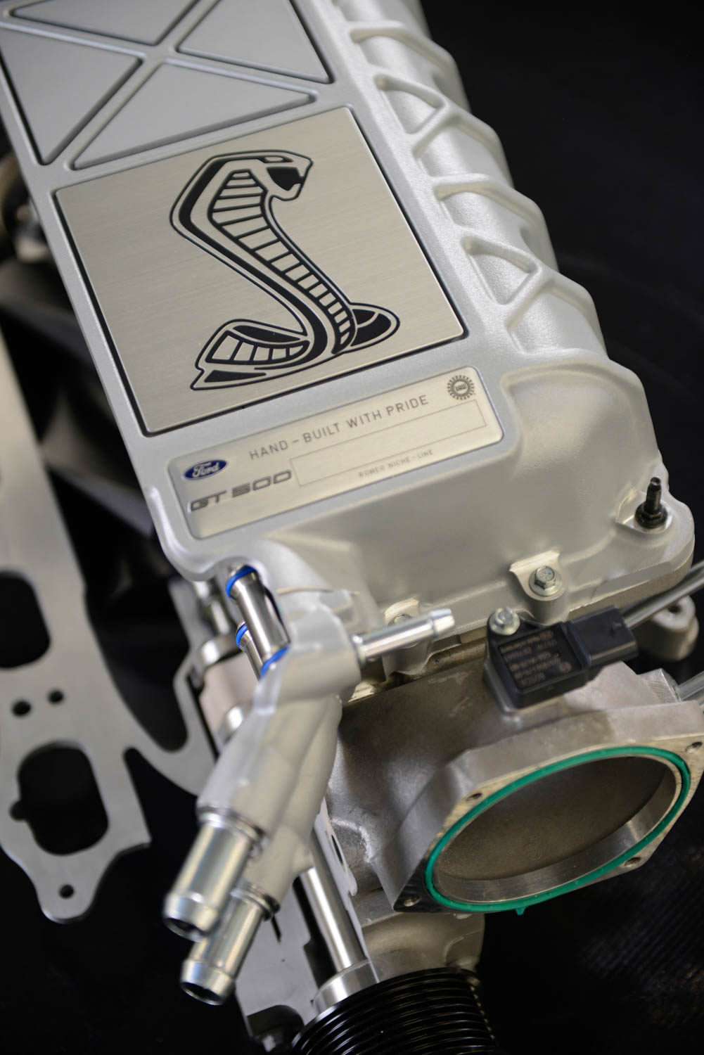 2020 Shelby GT500 engine