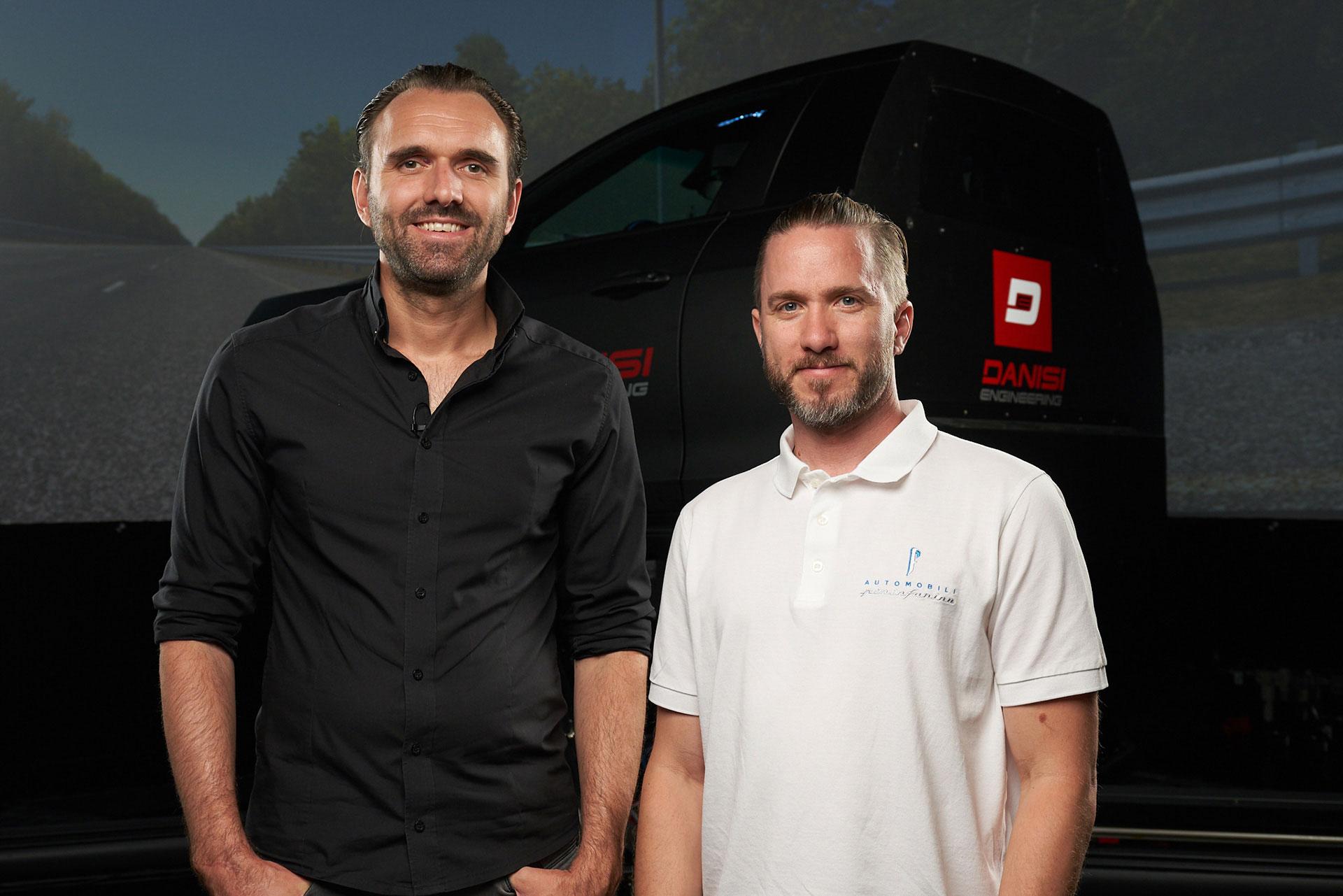 Rene Wollmann and Nick Heidfeld
