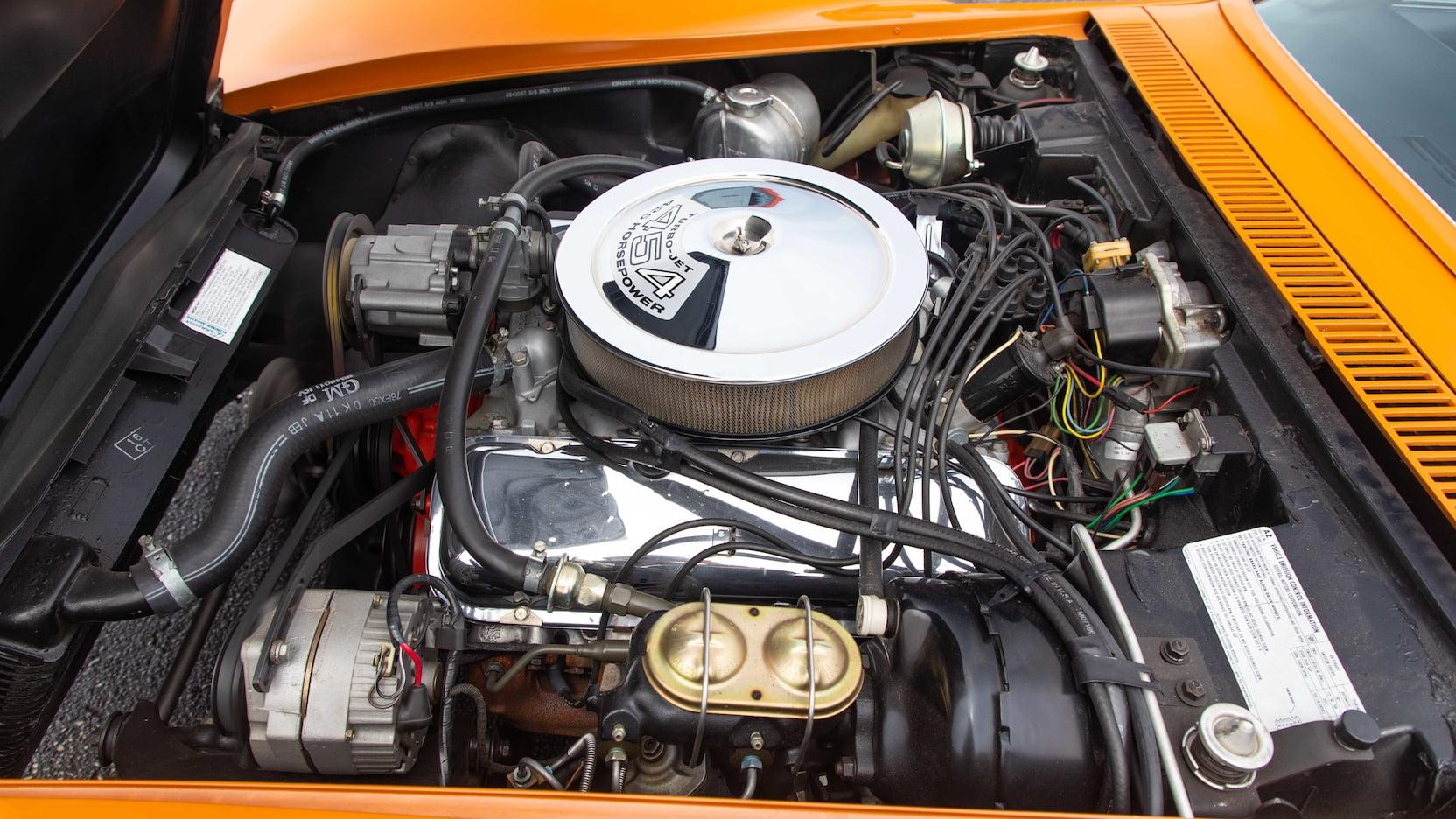 1971 Chevrolet Corvette ZR2 engine
