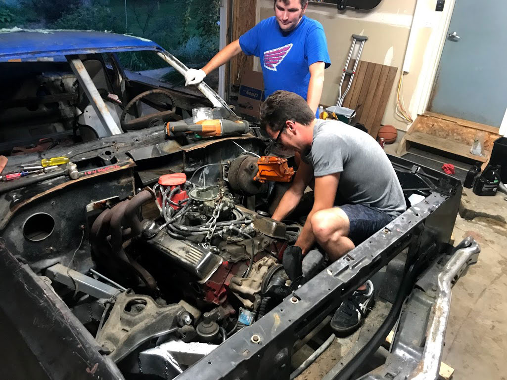 changing the transmission