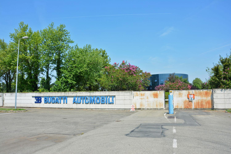 Bugatti's Blue Factory in Campogalliano