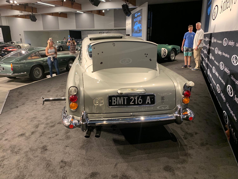 James Bond Aston Martin DB5 RM Sotheby's