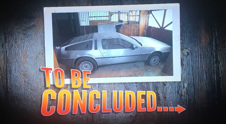 American Pickers DeLorean