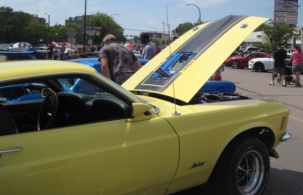 Woodward's Mustang Alley