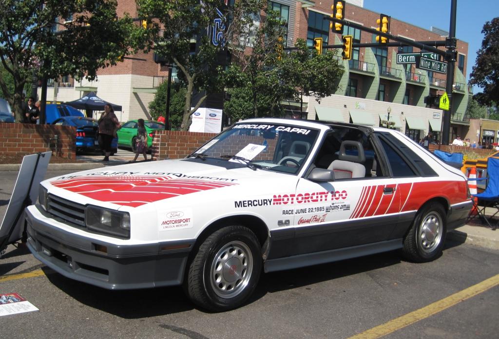 Woodward's Mustang Alley Ronnie Schreiber