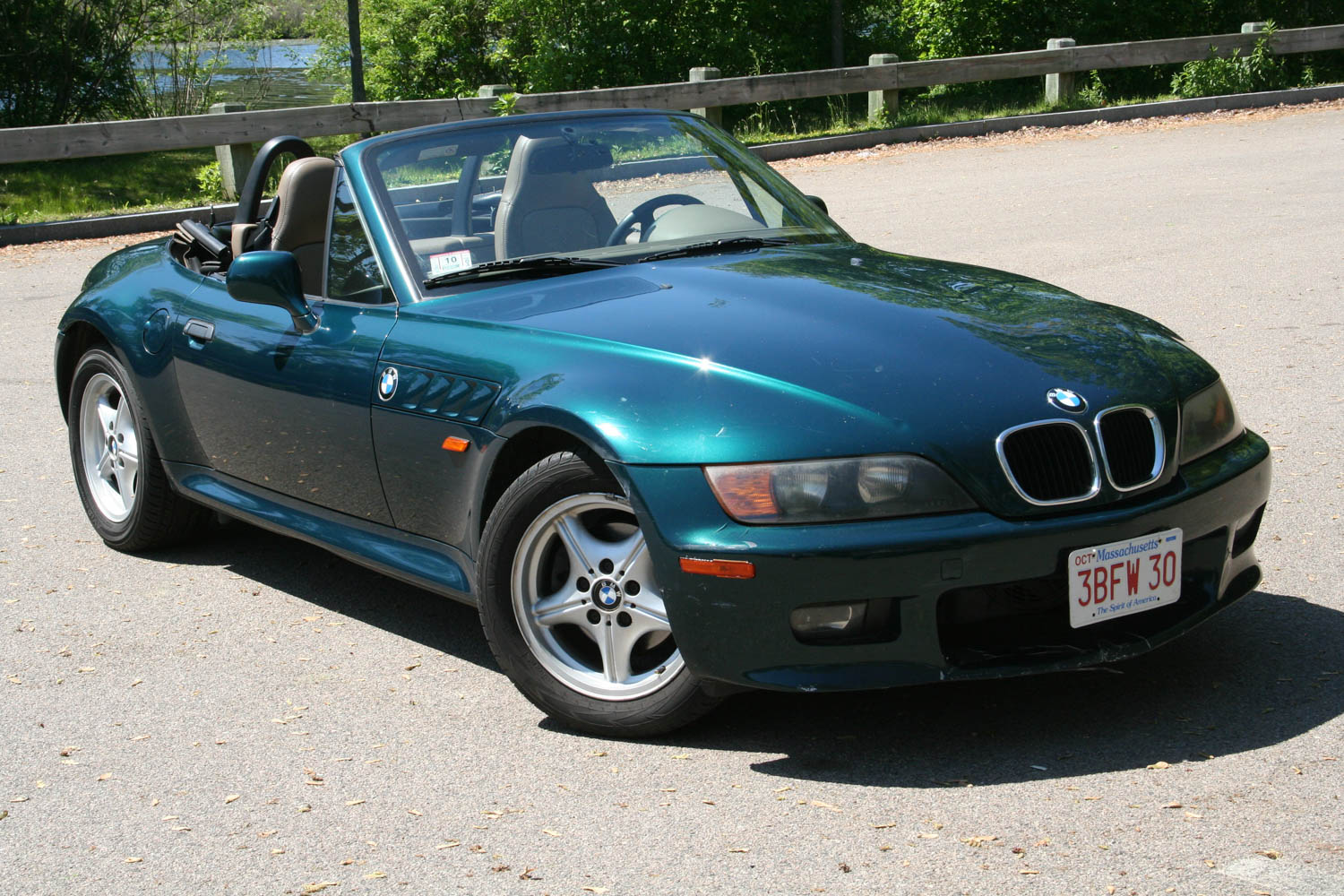The Z3's lines, particularly the bulbous nose, never left me mumbling in adoration, but it's a great car to own and drive.
