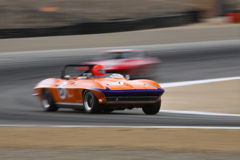 Laguna Seca Rolex Historics Corvette