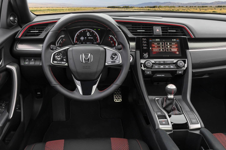 2020 Honda Civic Si Coupe steering wheel