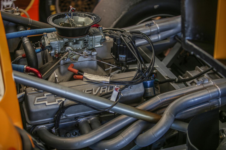 Chevy Small-block mid-engine prototype