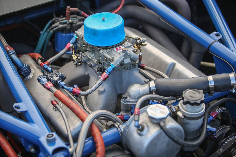 Laguna Seca NASCAR engine