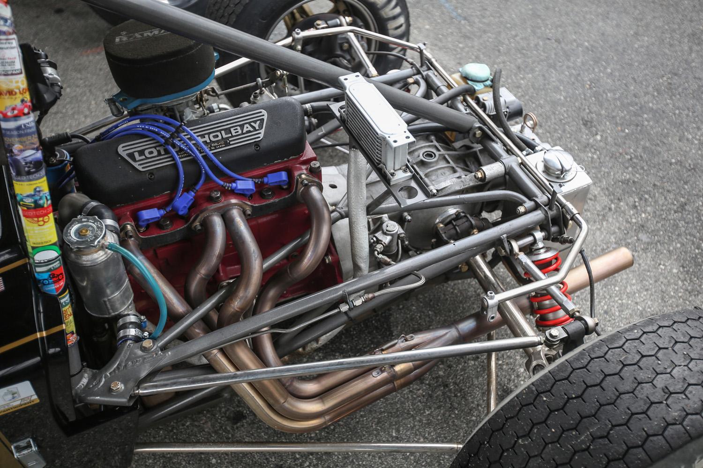 Lotus-Holbay Ford engine