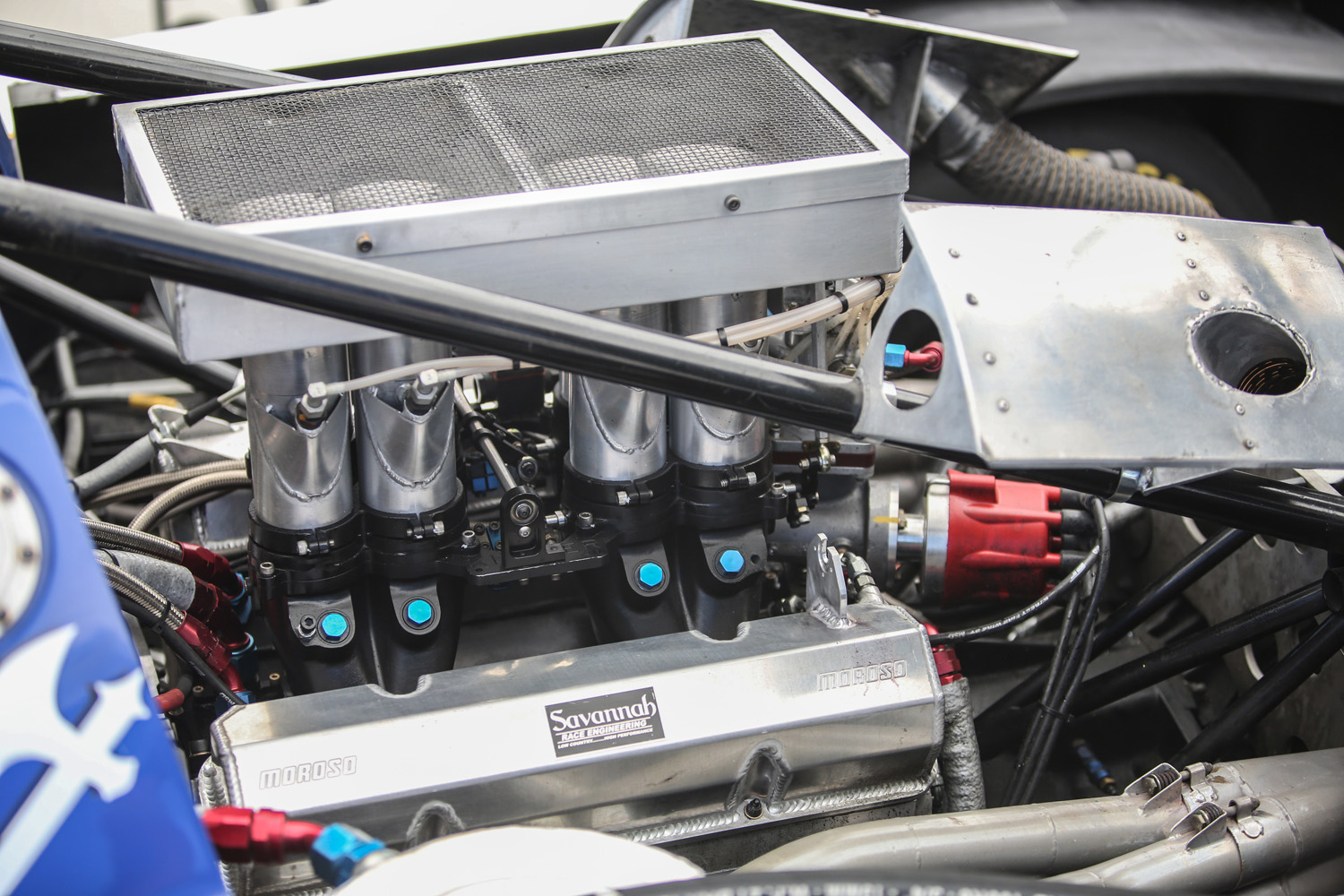 Mechanically fuel injected small-block Chevy