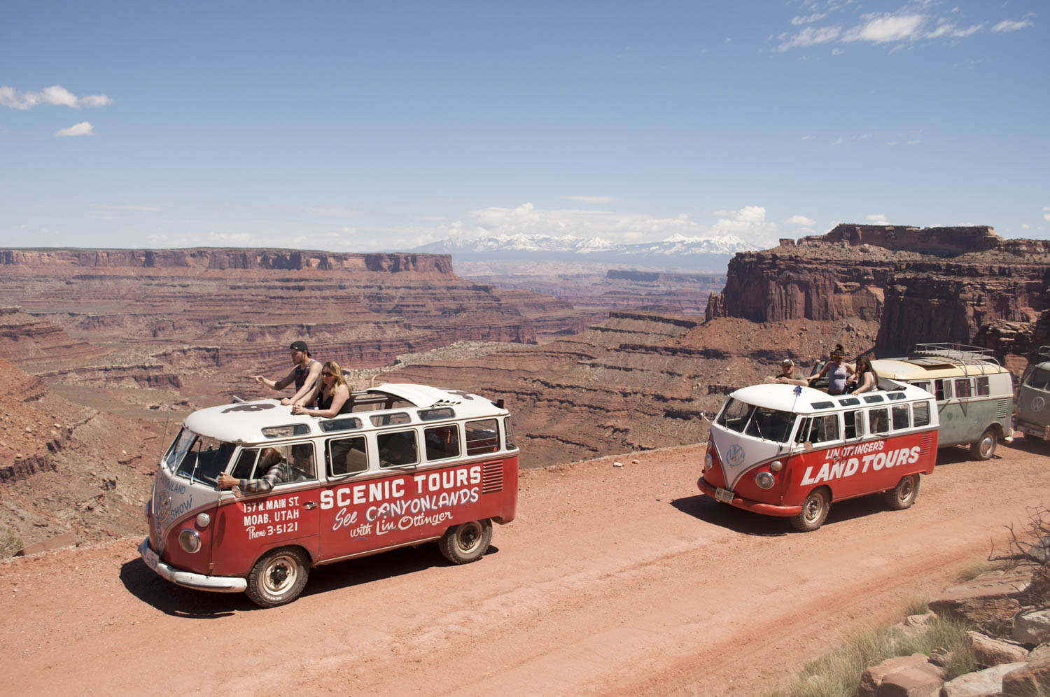 Volkswagen moab tour buses
