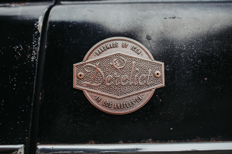 Icon Hudson Derelict Badge