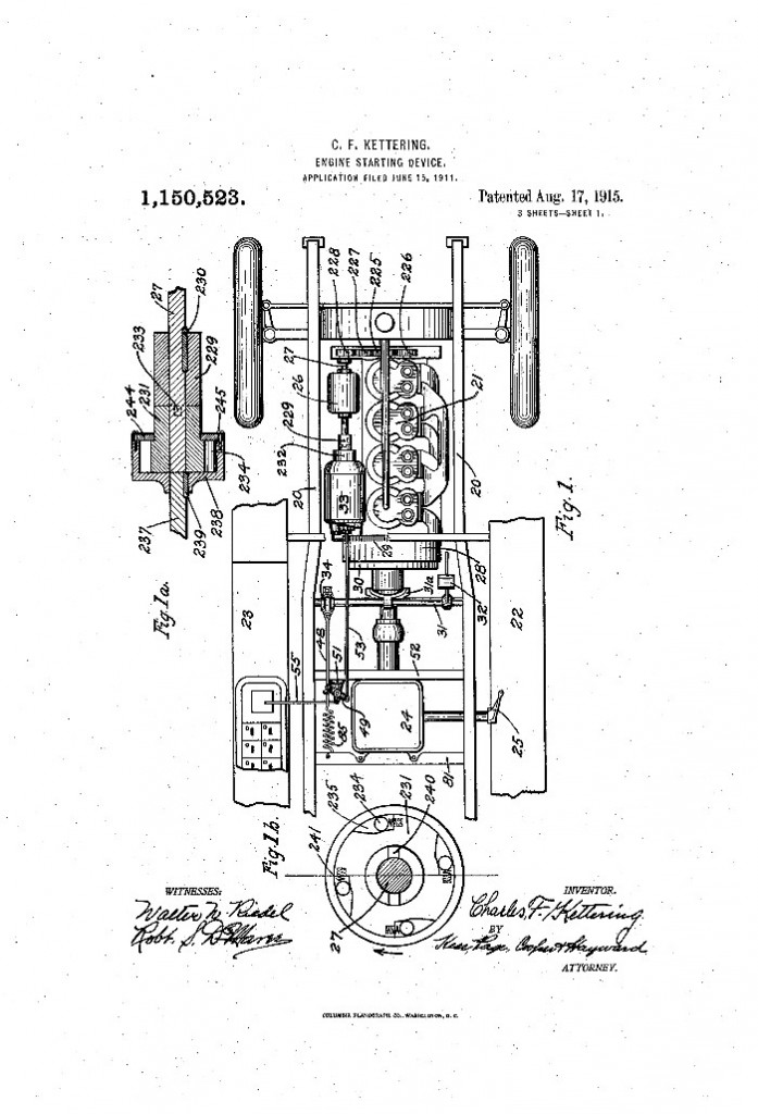 U.S. Patent Office Kettering ignition