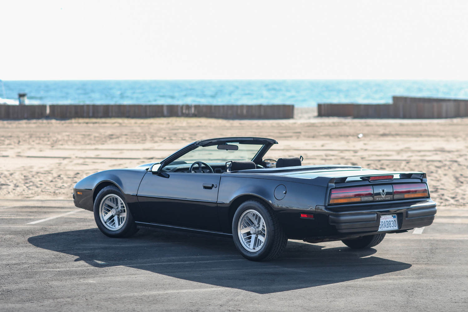 1989 Firebird Formula convertible top down