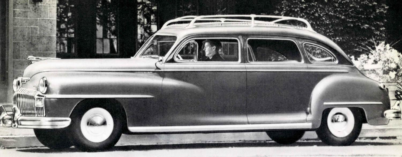 1946 DeSoto Custom Suburban.