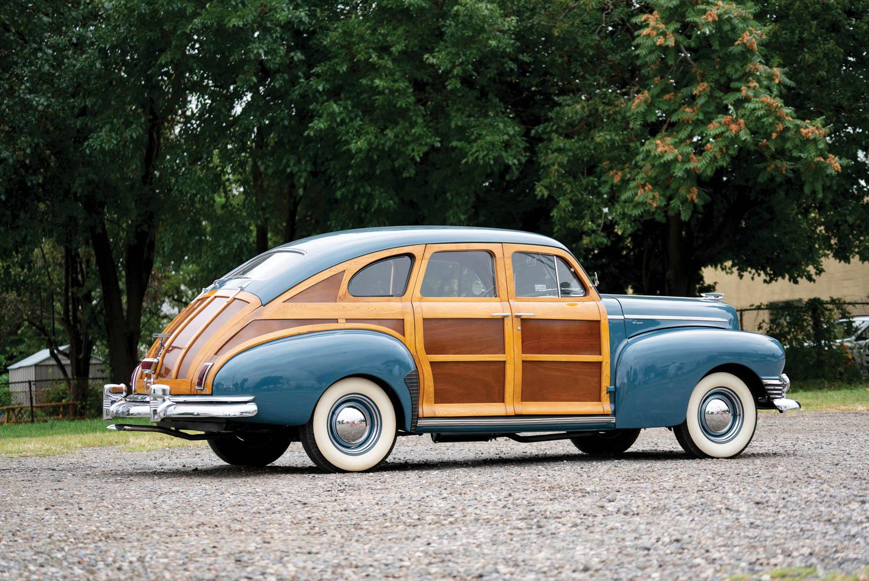 1947 Nash Ambassador Six Super Suburban