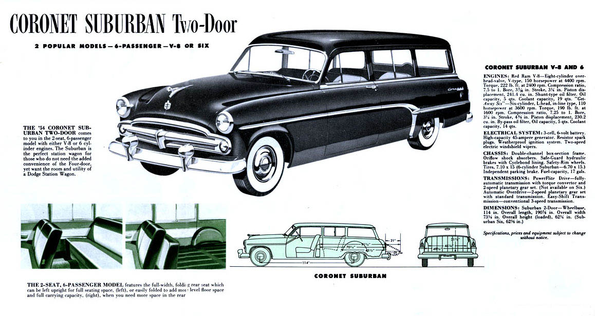 1954 Dodge Wagon