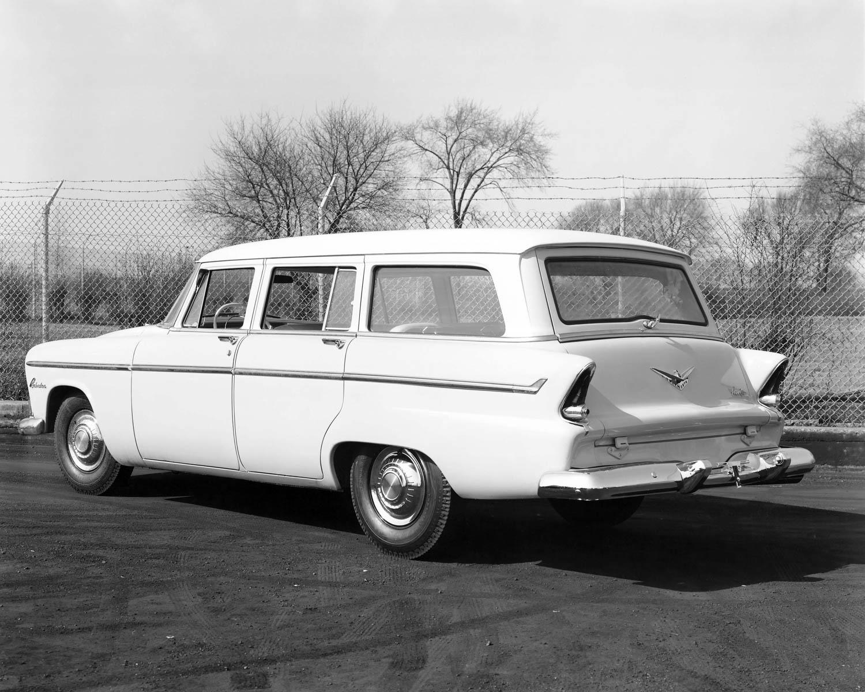1955 Plymouth Belvedere Suburban