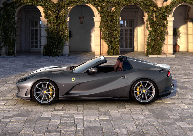 Ferrari 812 GTS profile
