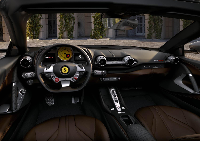 Ferrari 812 GTS interior