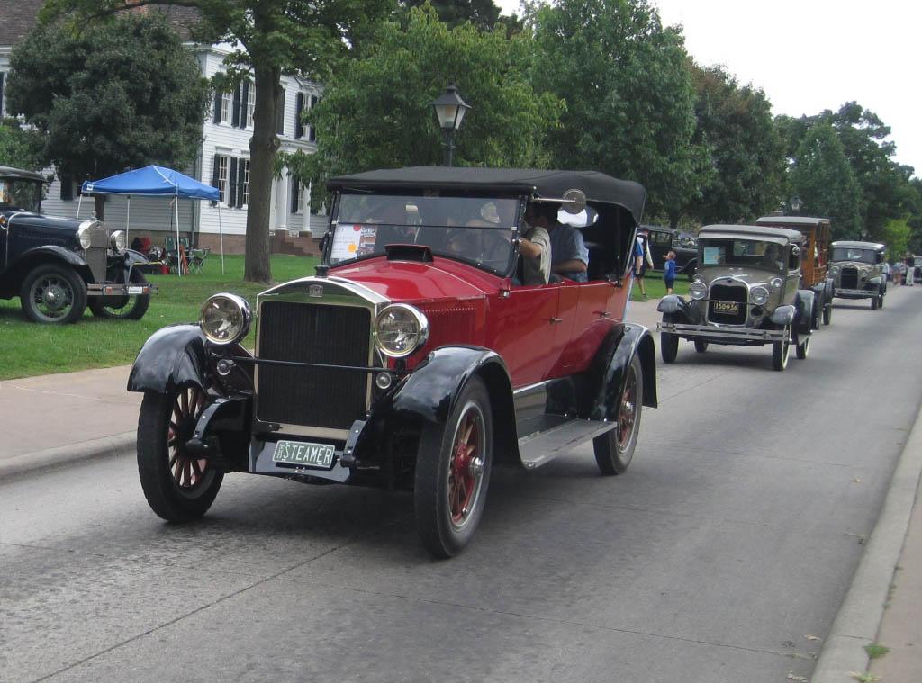 Pre war old car festival