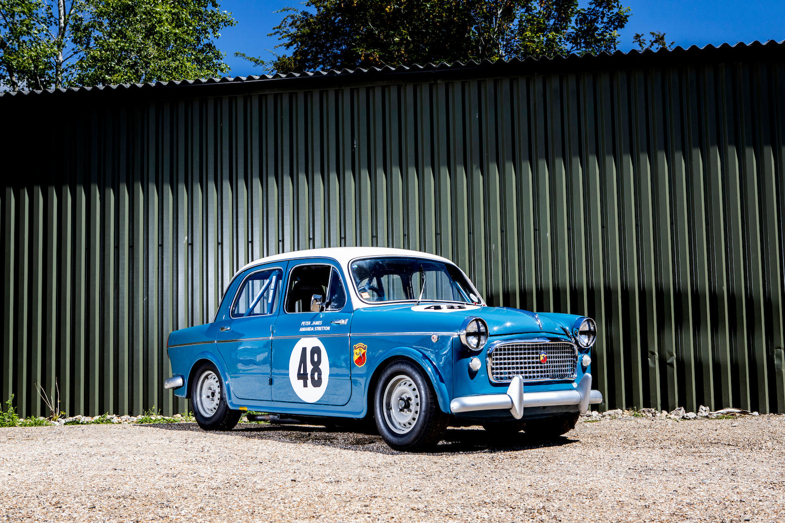1959 FIAT 1100 'Abarth Evocation' Competition Saloon