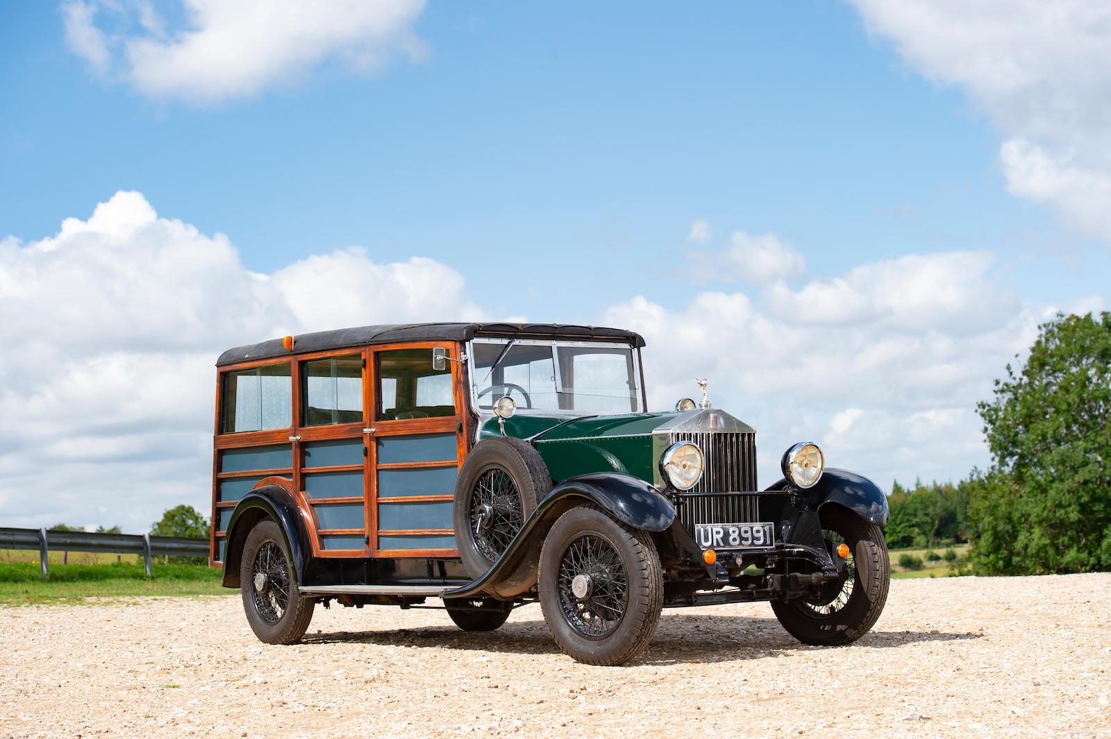1931 Rolls-Royce 20/25hp Shooting Brake