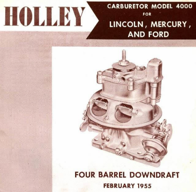 Holley 4000