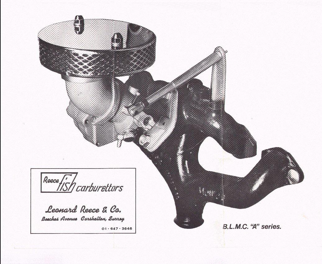 Reece Fish carburettor