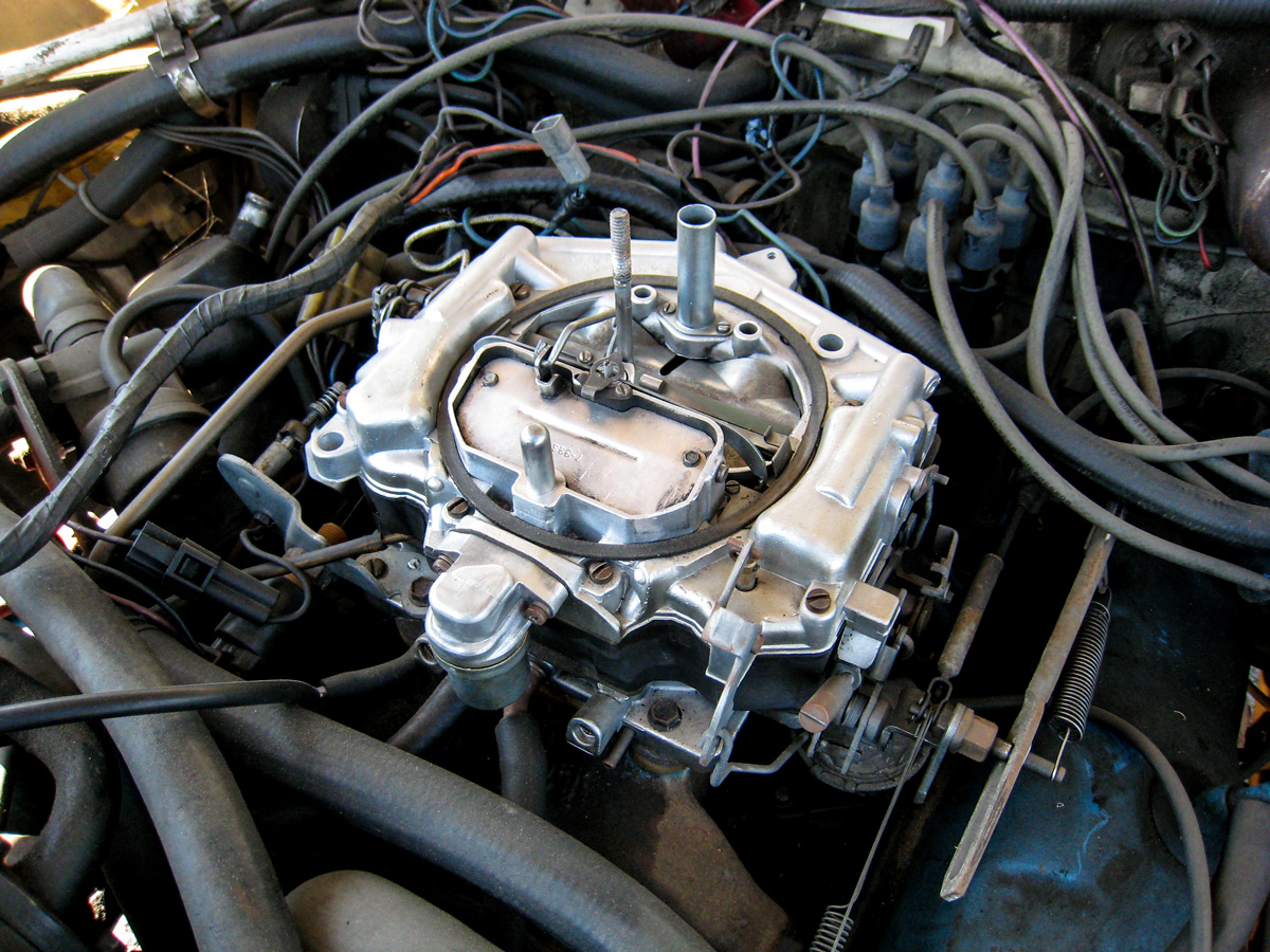 Thermoquad carburetor