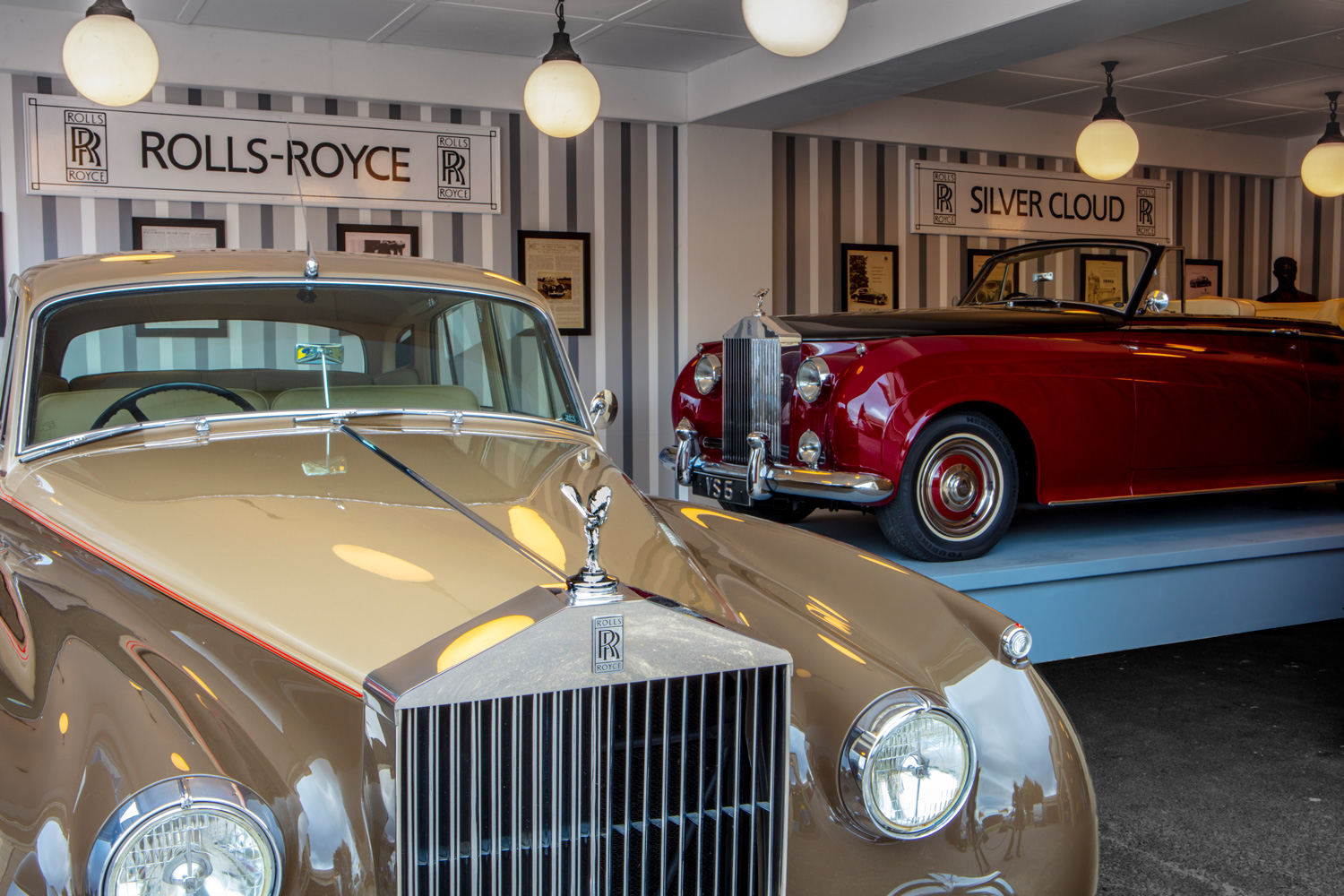 Rolls-Rpyce recreates Historic Motor Show at 2019 Goodwood Revival