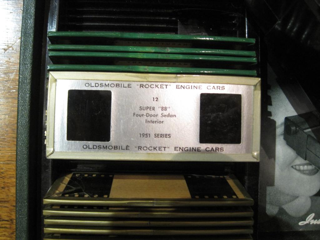 futuramic oldsmobile three dimension theater