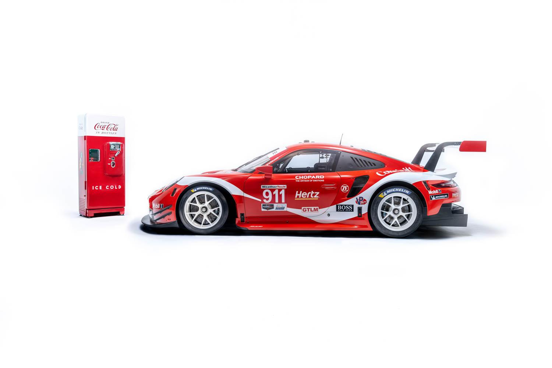 Porsche set to run Petit Le Mans with Coke livery