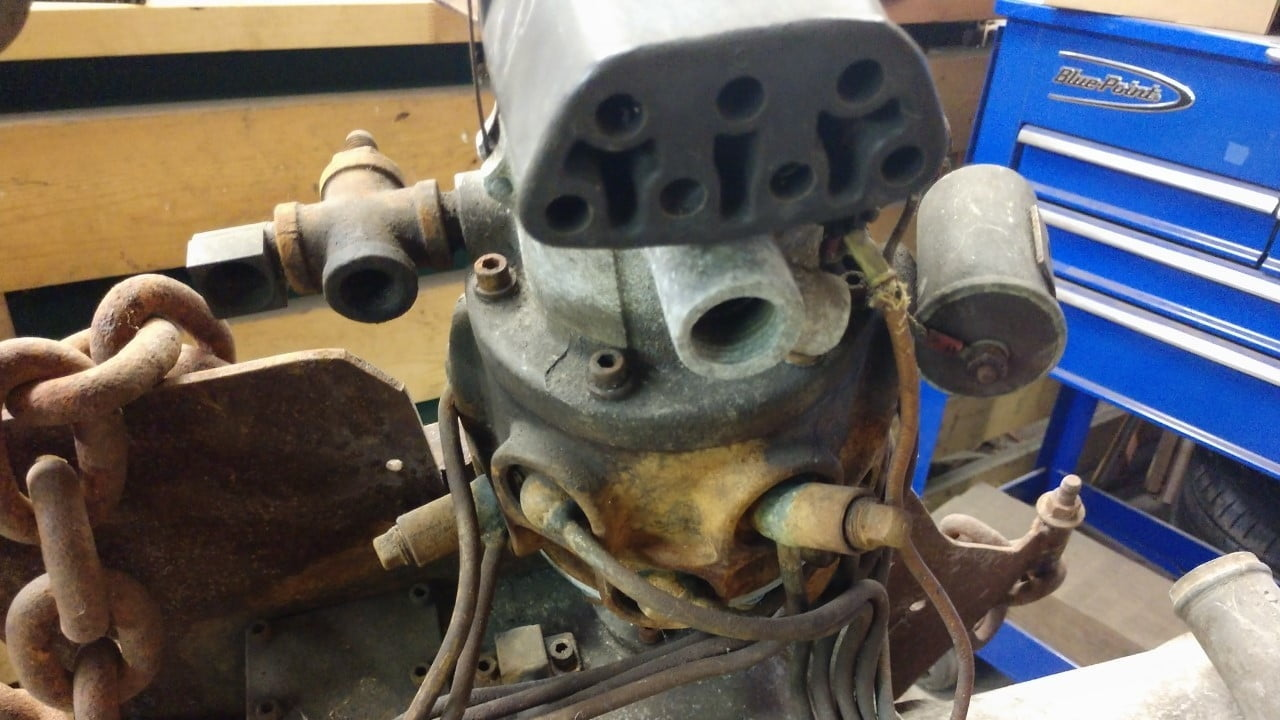 1947 Tucker 589 CI Engine Block