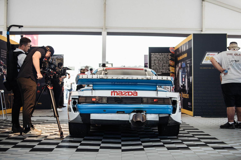 Mazda RX-7 race car