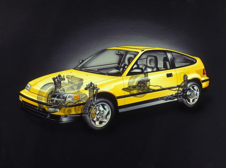1990 Honda CRX Si