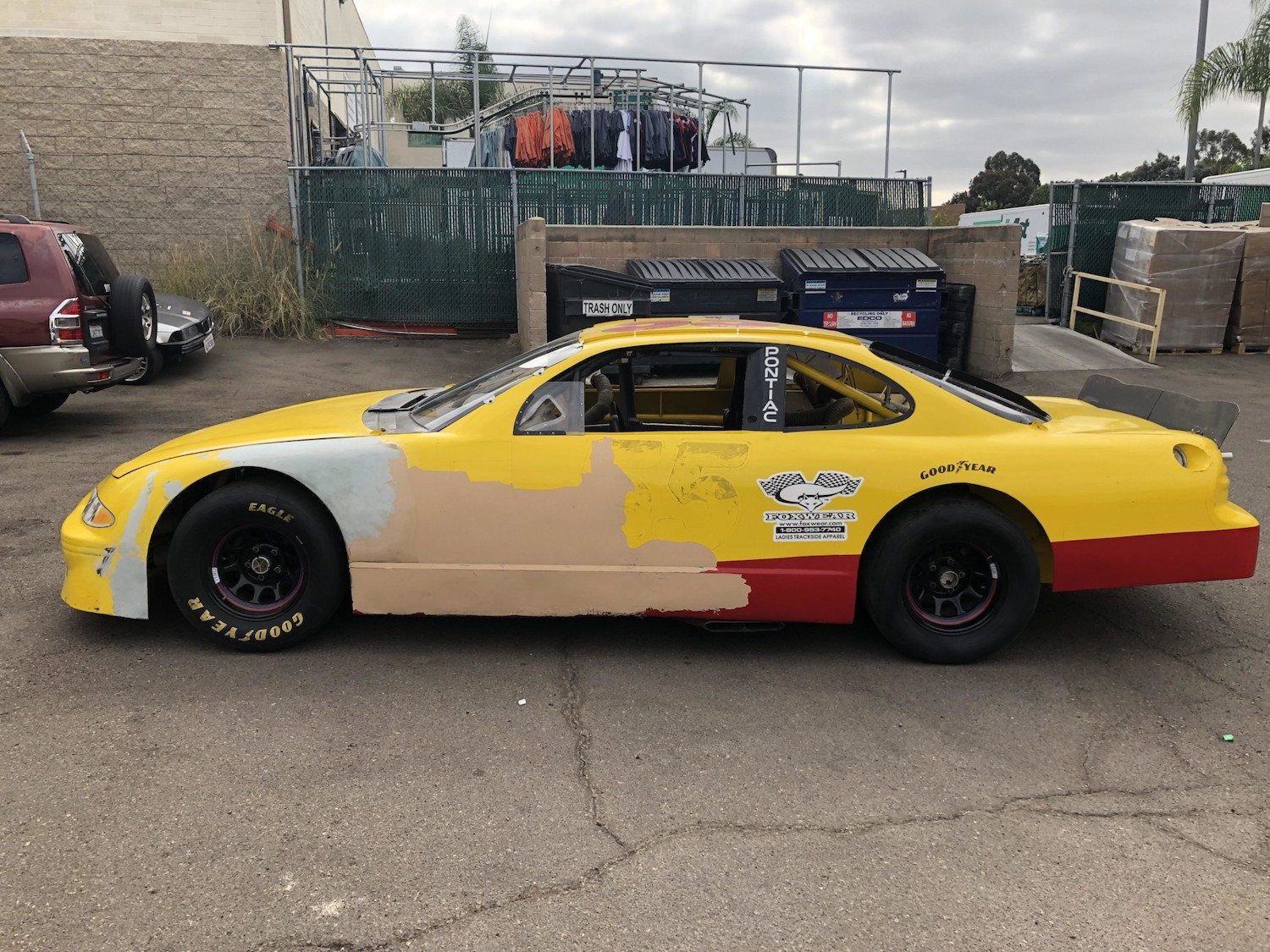 1996 Pontiac Grand Prix NASCAR Race Car