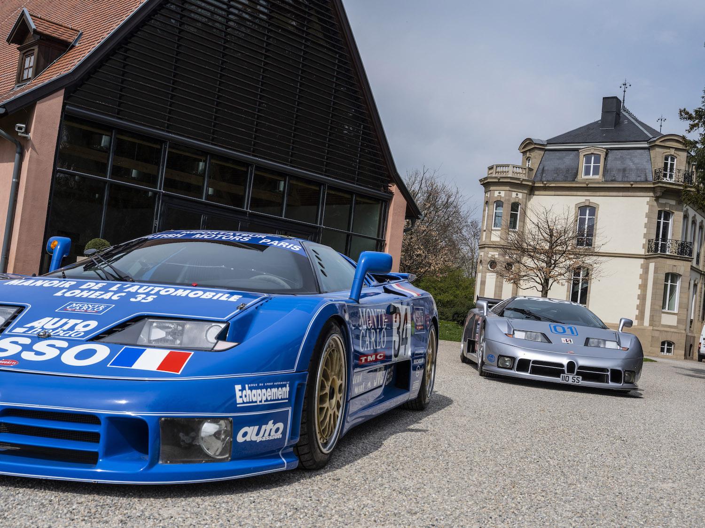 Bugatti EB 110 LM
